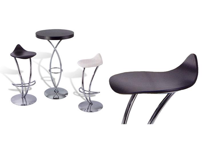 Design Complementi dArredo - Sgabello in legno e metallo