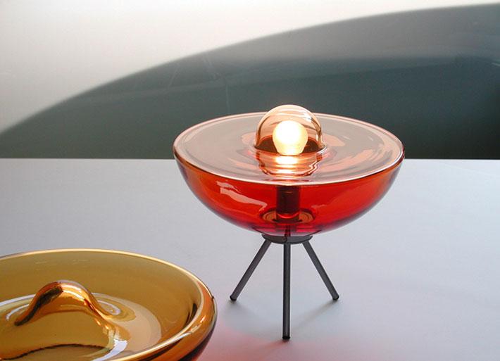 Design Vetro - Collezione di lampade ed arredi in vetro di Murano